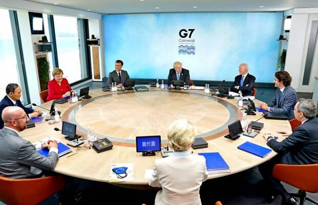 Саммит «Большой семерки»: мир разделен, война объявлена