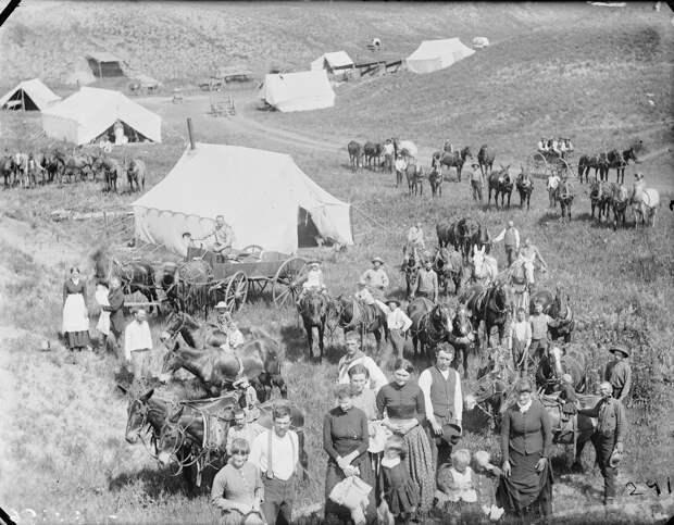 Как поднималась американская целина. Архивные фотографии пионеров Великих равнин конца 19-го века 10 1