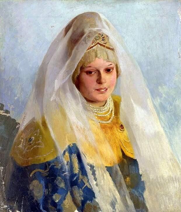 Klavdi Vasilievich Lebedev (1852-1916) Boyarina