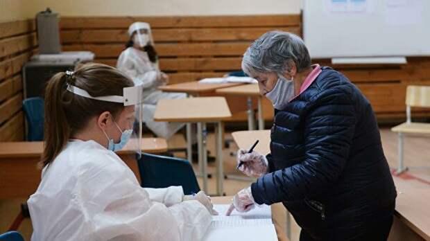 Глава ЦИК оценила соблюдение санитарных норм при голосовании по поправкам