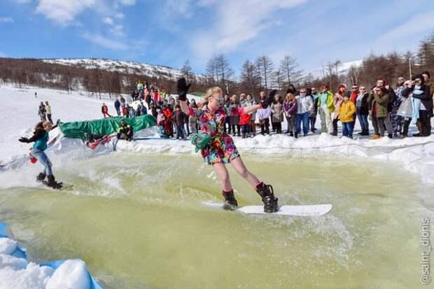 Фестиваль Crazy Weekend, посвященный закрытию горнолыжного сезона, проведут в Магадане