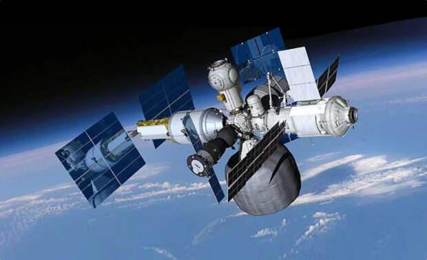 Новая российская орбитальная станция должна стать вдвое больше российского модуля на МКС