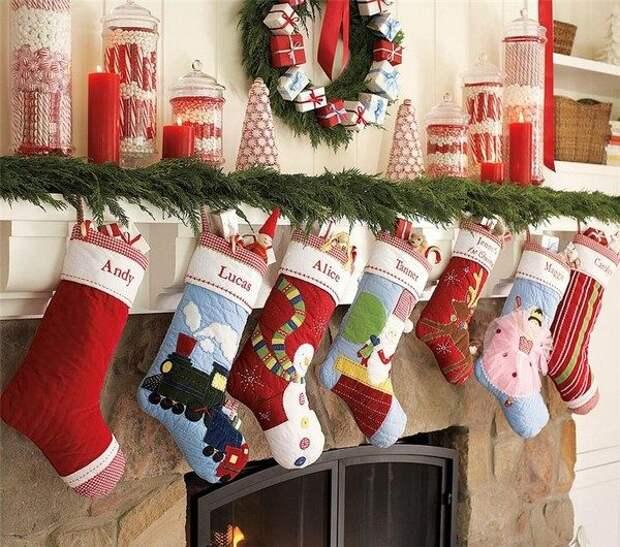 Идеи оформления дома к Новому году