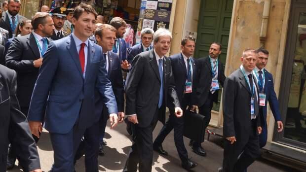 «Большая семерка» призвала белорусские власти провести новые выборы