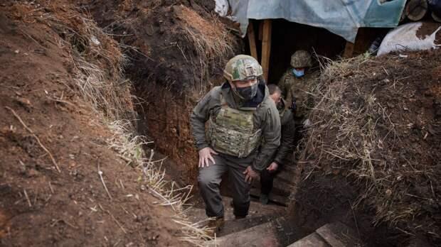 Зеленский подписал закон об экстренном призыве резервистов в ВСУ в случае войны в Донбассе