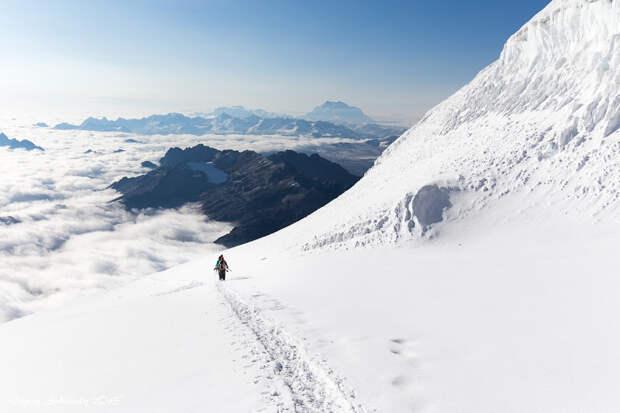 40 дней в горах Боливии и Перу: 4. Восхождение на г. Хуайна Потоси (6088м)