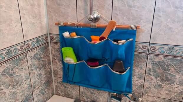 Шампуни больше не занимают бортики ванны — отличная идея