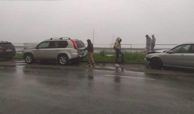 «Собрал вгармошку»: автомобилист устроил авто-дебош воВладивостоке