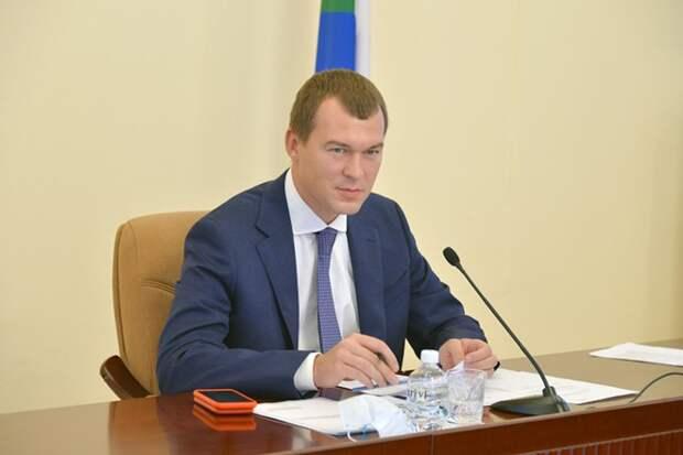 Дегтярёв подал документы на выборы губернатора Хабаровского края