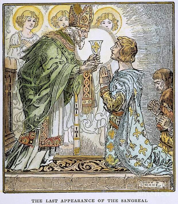 Святой Грааль и рыцари Круглого стола
