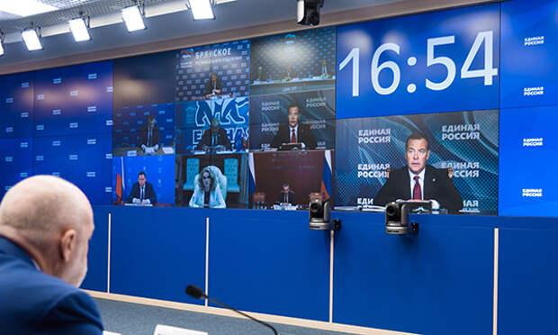 Медведев обостряет предвыборную игру