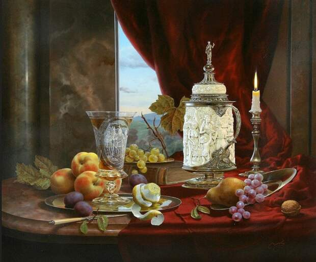 художник Gyula Boros (Дьюла Борос) картины – 01
