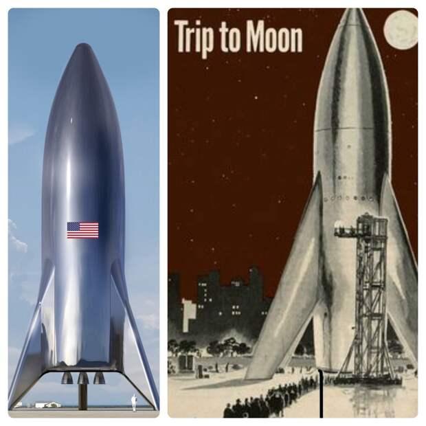 Маск показал, как будет выглядеть экспериментальный космический корабль SpaceX Starship