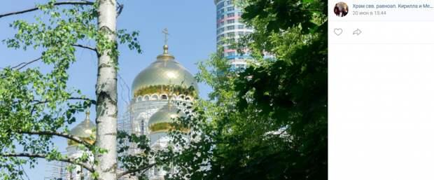 Храм на Бажова посетит председатель Замоскворецкого общества трезвости