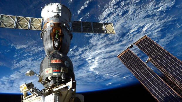 """К модулю """"Наука"""" на МКС впервые пристыковался космический пилотируемый корабль"""