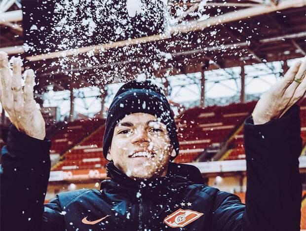 Айртон показал раздевалку «Спартака» после выхода в Лигу чемпионов: фото