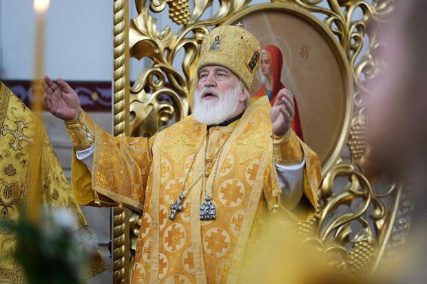 Отстранён глава Белорусской православной церкви митрополит Минский и Заславский Павел