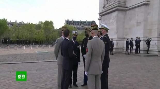Французские генералы в ультимативной форме предупредили о грозящей стране опасности