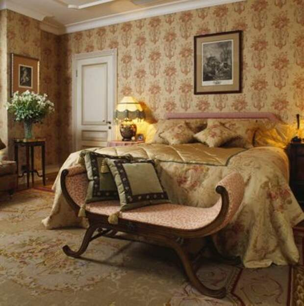 Спальня by Английские интерьеры