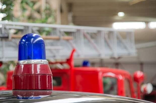 В Краснодаре пожарные ликвидировали крупное возгорание на зоорынке