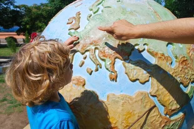 Преподавание, Ребенок, Мире, География, Дети Учатся