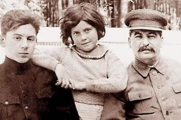 Дети Сталина в роскоши не купались, но и не бедствовали.
