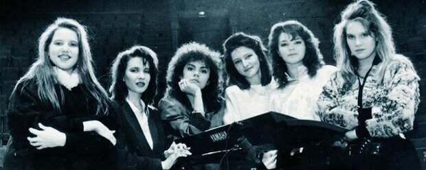 Группа Комбинация в начале 90-х годов