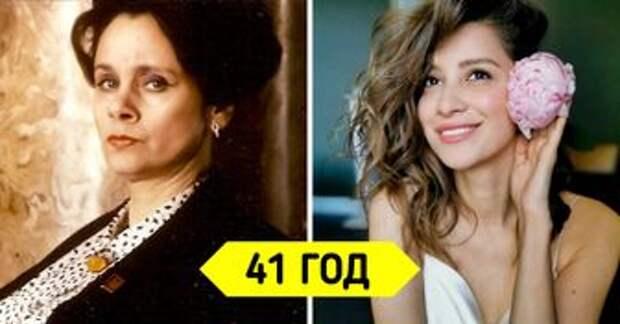 Посмотрите, как выглядят 14 советских и российских кинозвезд в одном и том же возрасте