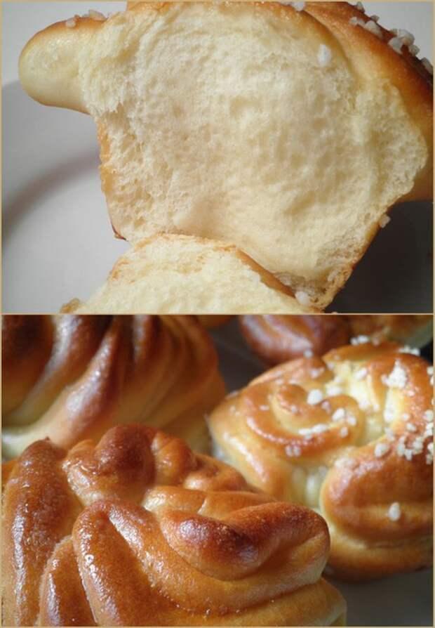 Вкуснейшие булочки с начинкой - очень эффектно!