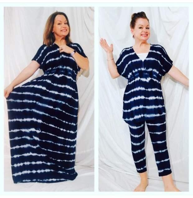 Пижама из пляжного платья