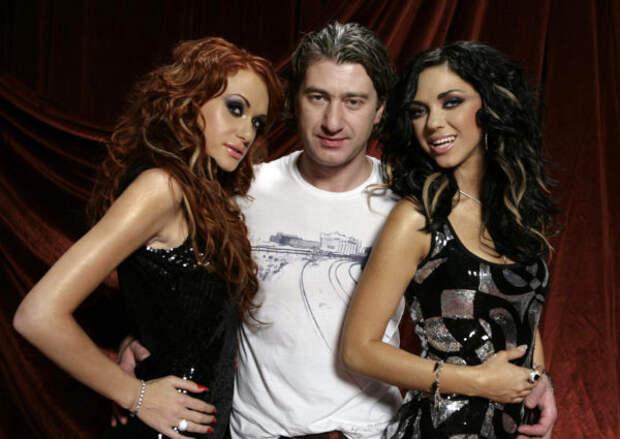 НеАнгелы со своим продюсером Юрием Никитиным