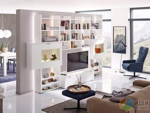 Мебель с подсветкой – один из вариантов решения, Hülsta
