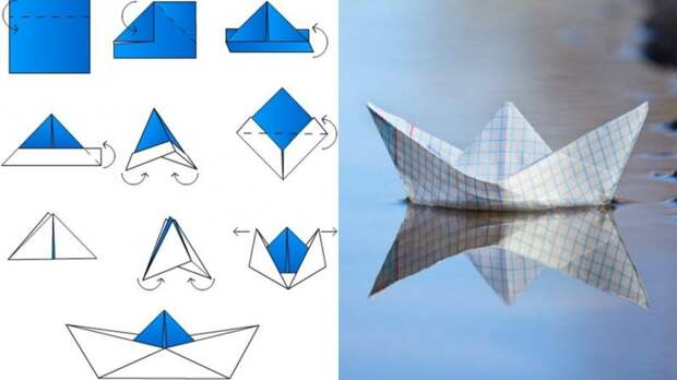 А вы запускали бумажные кораблики? 8 схем, которые вернут вас в детство бумажные кораблики, детство, запускать, лужи, ностальгия