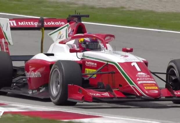 Деннис Хаугер – победитель основной гонки Ф3 в Барселоне