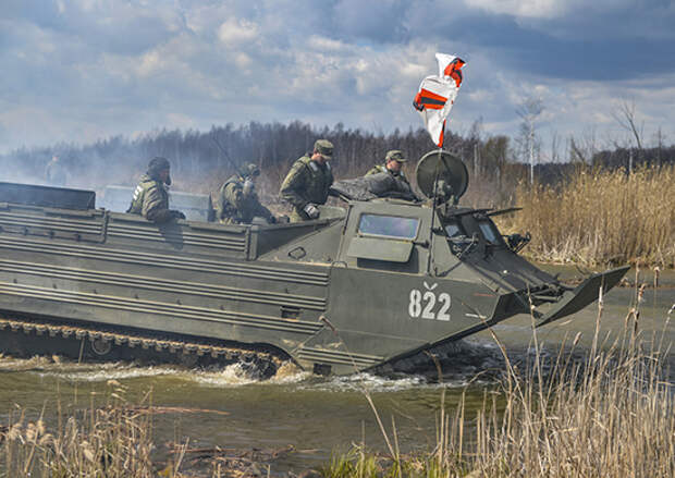 В Подмосковье завершилась тренировка спасательно-эвакуационной группы Кантемировской танковой дивизии ЗВО