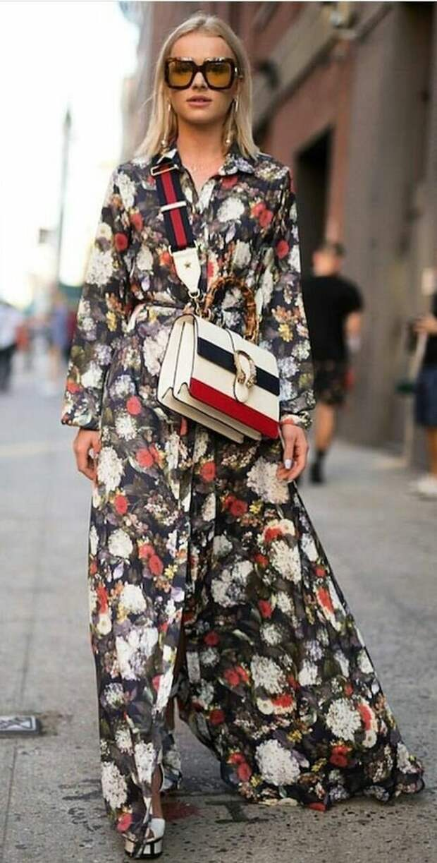 Как носить принт с цветочками, чтобы не выглядеть «простушкой»!