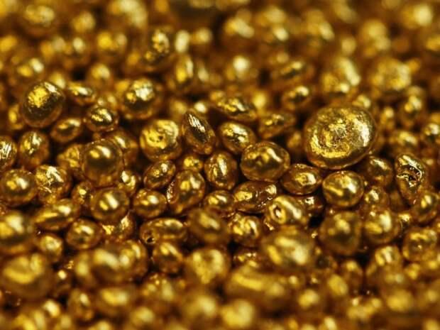 Золото может быть очень чистым.