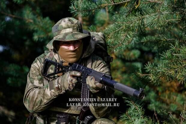 Спецназ - «Разведка в лесу»