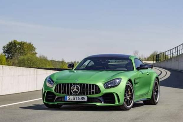 Убойная сила: Mercedes-AMG GT R поразил всех на Нюрбургринге