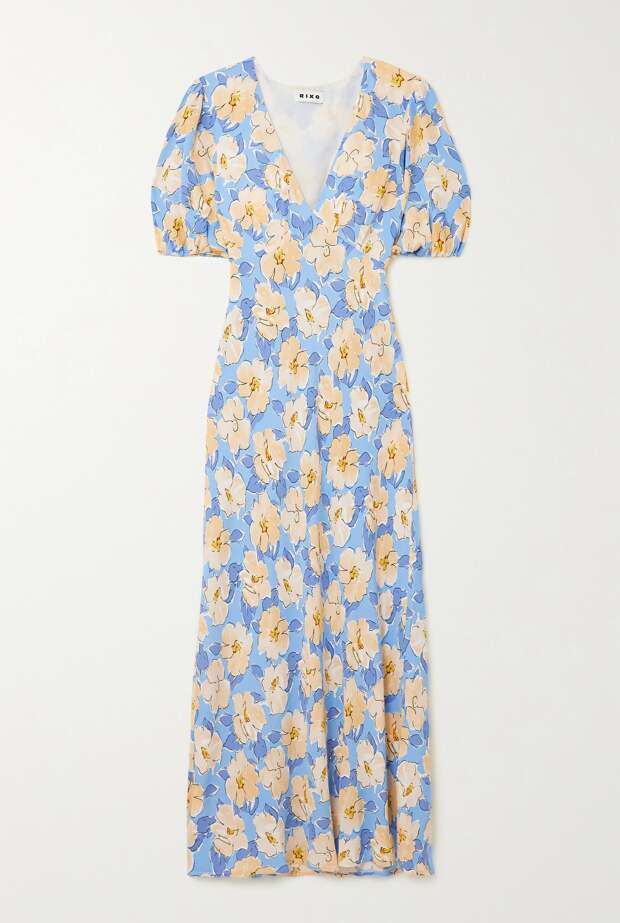 Летом всем нужно платье в цветочек. Вот 20 нежных вариантов