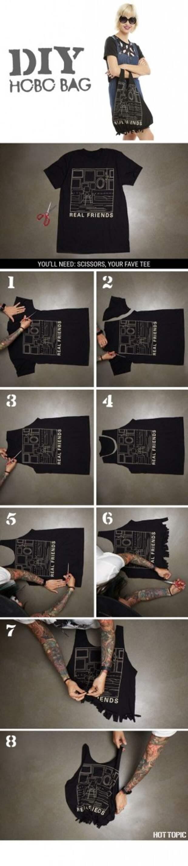 Панковские переделки футболок (подборка)