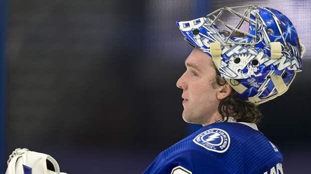 Василевский победил в голосовании НХЛ на лучшего вратаря среди участников плей-офф, Варламов — пятый