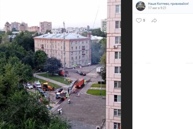 Ремонт дороги на Новопетровской продлится до 25 августа