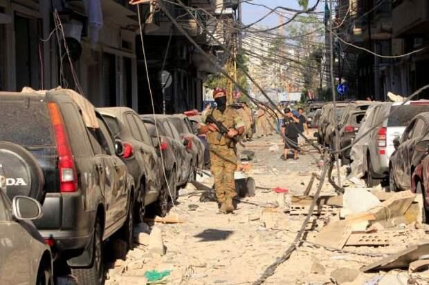 Из Ливана вывезли опасные вещества, обнаруженные после взрыва в Бейруте