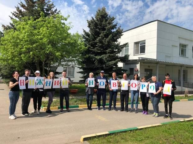 В нижегородском детском психоневрологическом санатории провели субботник