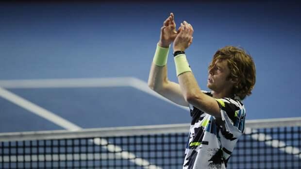 Рублёв победил Штруффа и вышел в третий круг теннисного «Мастерса» в Риме