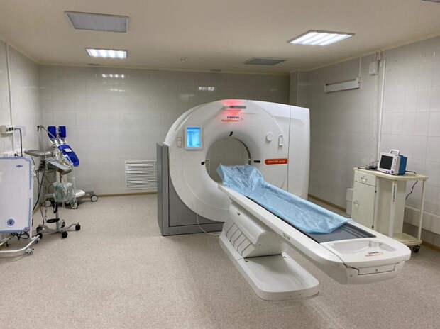 В Краснодаре детская больница получила новый компьютерный томограф
