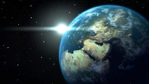 Таинственная тень, пересекающая Землю