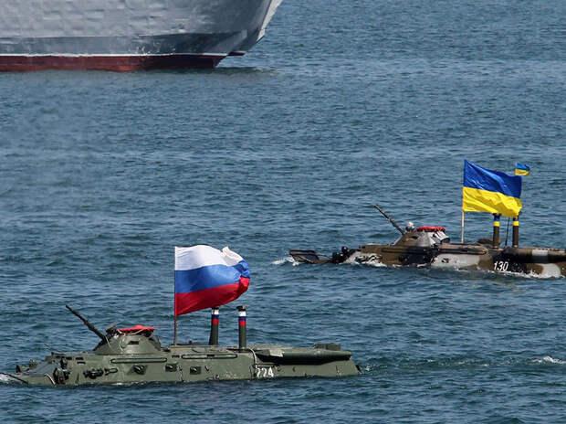 Адмирал ВМС США смоделировал возможный конфликт между РФ и Украиной