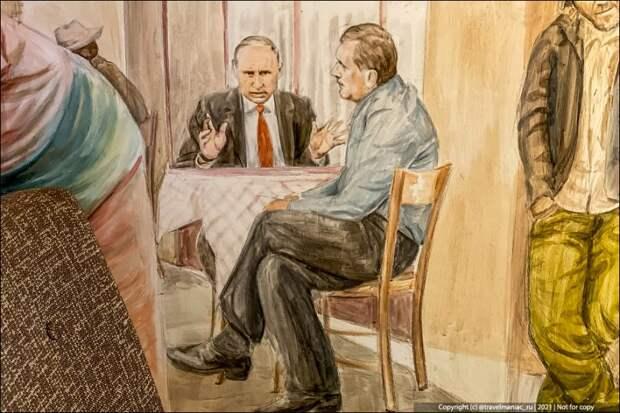 Увидел Путина с Додиком в любимом ресторане ВВП на Балканах